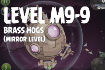 Angry Birds Space Brass Hogs Mirror Level M9-9 Walkthrough