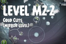 Angry Birds Space Cold Cuts Mirror Level M2-2 Walkthrough