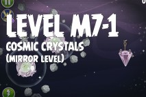 Angry Birds Space Cosmic Crystals Mirror Level M7-1 Walkthrough