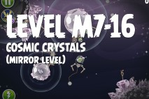 Angry Birds Space Cosmic Crystals Mirror Level M7-16 Walkthrough