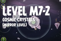 Angry Birds Space Cosmic Crystals Mirror Level M7-2 Walkthrough