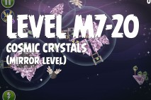 Angry Birds Space Cosmic Crystals Mirror Level M7-20 Walkthrough