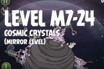 Angry Birds Space Cosmic Crystals Mirror Level M7-24 Walkthrough