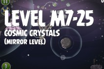Angry Birds Space Cosmic Crystals Mirror Level M7-25 Walkthrough