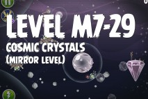 Angry Birds Space Cosmic Crystals Mirror Level M7-29 Walkthrough