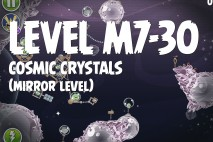 Angry Birds Space Cosmic Crystals Mirror Level M7-30 Walkthrough