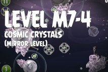 Angry Birds Space Cosmic Crystals Mirror Level M7-4 Walkthrough