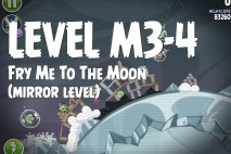 Angry Birds Space Fry Me to the Moon Mirror Level M3-4 Walkthrough