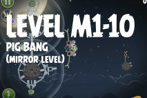 Angry Birds Space Pig Bang Mirror Level M1-10 Walkthrough