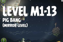Angry Birds Space Pig Bang Mirror Level M1-13 Walkthrough