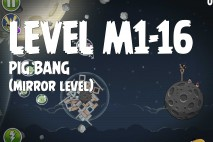 Angry Birds Space Pig Bang Mirror Level M1-16 Walkthrough