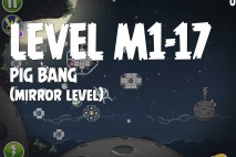 Angry Birds Space Pig Bang Mirror Level M1-17 Walkthrough