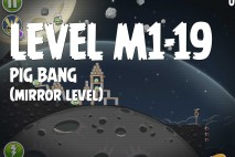 Angry Birds Space Pig Bang Mirror Level M1-19 Walkthrough