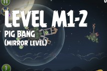 Angry Birds Space Pig Bang Mirror Level M1-2 Walkthrough