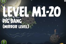 Angry Birds Space Pig Bang Mirror Level M1-20 Walkthrough