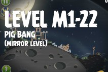 Angry Birds Space Pig Bang Mirror Level M1-22 Walkthrough