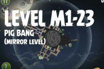 Angry Birds Space Pig Bang Mirror Level M1-23 Walkthrough