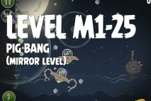 Angry Birds Space Pig Bang Mirror Level M1-25 Walkthrough