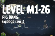 Angry Birds Space Pig Bang Mirror Level M1-26 Walkthrough