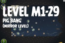 Angry Birds Space Pig Bang Mirror Level M1-29 Walkthrough
