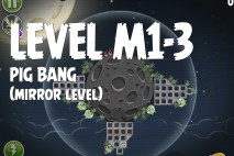 Angry Birds Space Pig Bang Mirror Level M1-3 Walkthrough