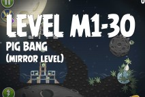 Angry Birds Space Pig Bang Mirror Level M1-30 Walkthrough