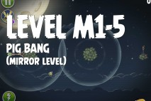 Angry Birds Space Pig Bang Mirror Level M1-5 Walkthrough