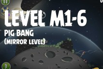 Angry Birds Space Pig Bang Mirror Level M1-6 Walkthrough