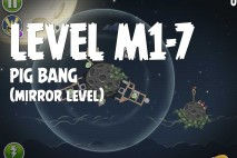 Angry Birds Space Pig Bang Mirror Level M1-7 Walkthrough