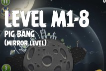 Angry Birds Space Pig Bang Mirror Level M1-8 Walkthrough