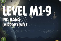 Angry Birds Space Pig Bang Mirror Level M1-9 Walkthrough
