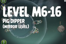 Angry Birds Space Pig Dipper Mirror Level M6-16 Walkthrough