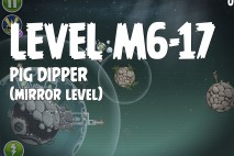 Angry Birds Space Pig Dipper Mirror Level M6-17 Walkthrough