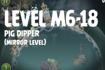 Angry Birds Space Pig Dipper Mirror Level M6-18 Walkthrough