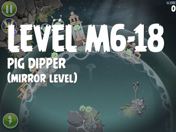 Angry Birds Space Pig Dipper Level M6-18