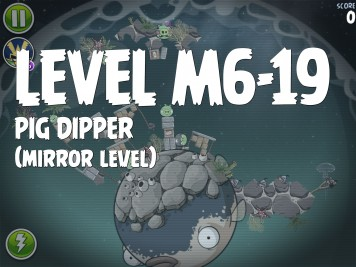Angry Birds Space Pig Dipper Level M6-19