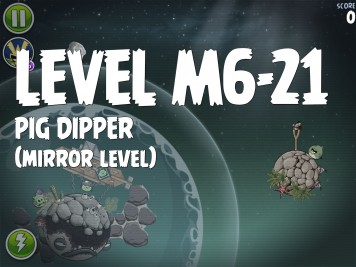 Angry Birds Space Pig Dipper Level M6-21