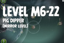 Angry Birds Space Pig Dipper Mirror Level M6-22 Walkthrough