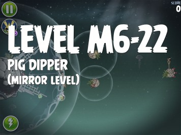 Angry Birds Space Pig Dipper Level M6-22