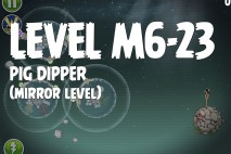 Angry Birds Space Pig Dipper Mirror Level M6-23 Walkthrough