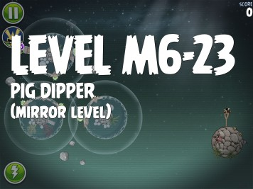 Angry Birds Space Pig Dipper Level M6-23