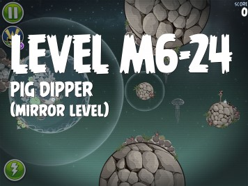Angry Birds Space Pig Dipper Level M6-24