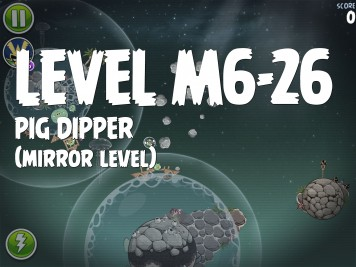 Angry Birds Space Pig Dipper Level M6-26