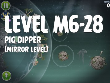 Angry Birds Space Pig Dipper Level M6-28