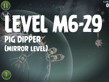 Angry Birds Space Pig Dipper Level M6-29