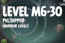 Angry Birds Space Pig Dipper Mirror Level M6-30 Walkthrough