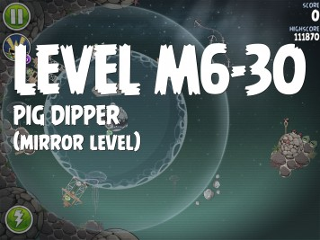 Angry Birds Space Pig Dipper Level M6-30