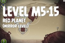 Angry Birds Space Red Planet Mirror Level M5-15 Walkthrough