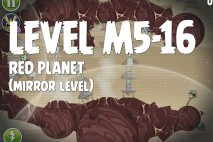 Angry Birds Space Red Planet Mirror Level M5-16 Walkthrough