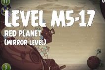 Angry Birds Space Red Planet Mirror Level M5-17 Walkthrough